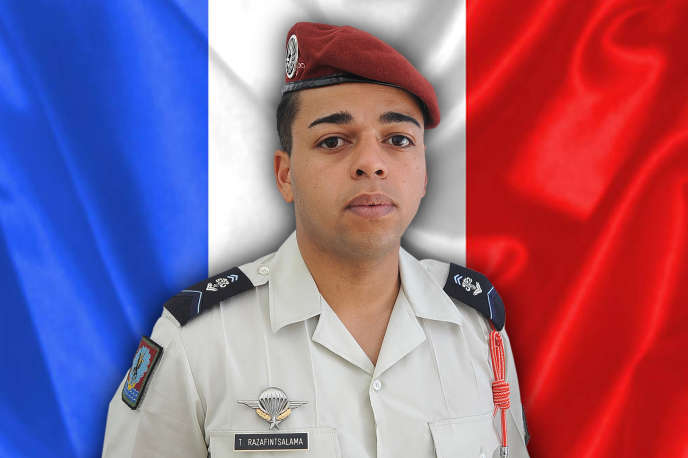 Tojohasina Razafintsalama s'était engagé avec le 1er régiment de hussards parachutistes de Tarbes en 2018 et avait été déployé au Mali le 14 juillet 2020.