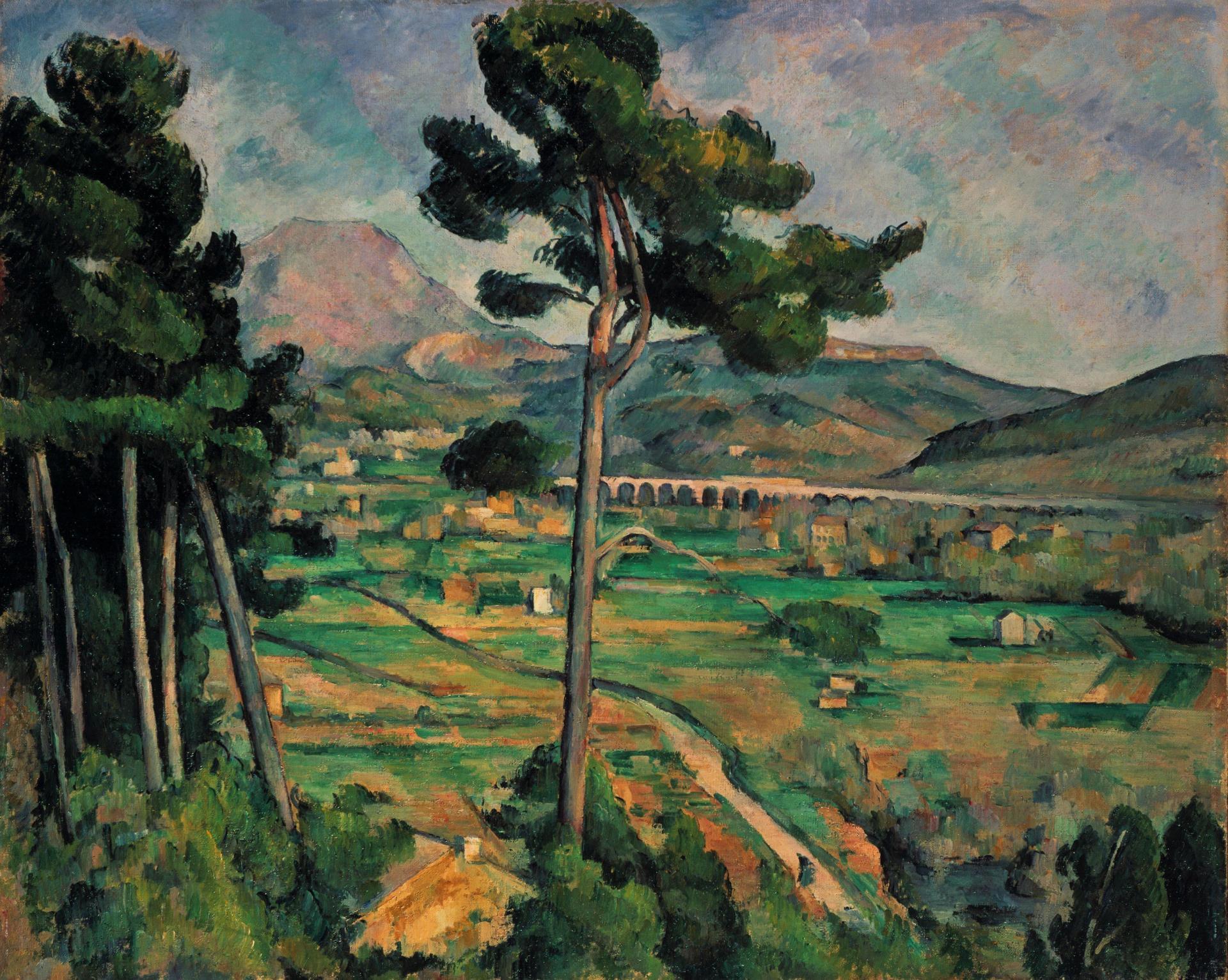 «La Montagne Sainte-Victoire, vue de la colline de Montbriand» (1882-1885), de Paul Cézanne (1839-1906).