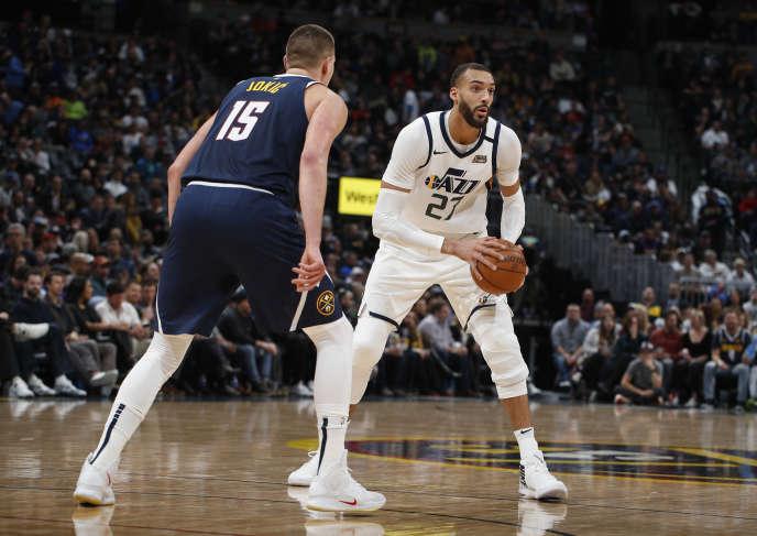 Rudy Gobert et son équipe, les Utah Jazz, vont relancer, jeudi 30 juillet, la saison NBA face aux New Orleans Pelicans, au Disney World, à Orlando, en Floride.