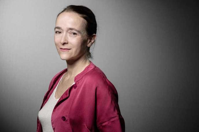 La présidente du groupe France Télévisions, Delphine Ernotte, à Paris, en septembre 2019.