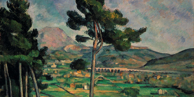 Sur la montagne Sainte-Victoire, Paul Cézanne au sommet