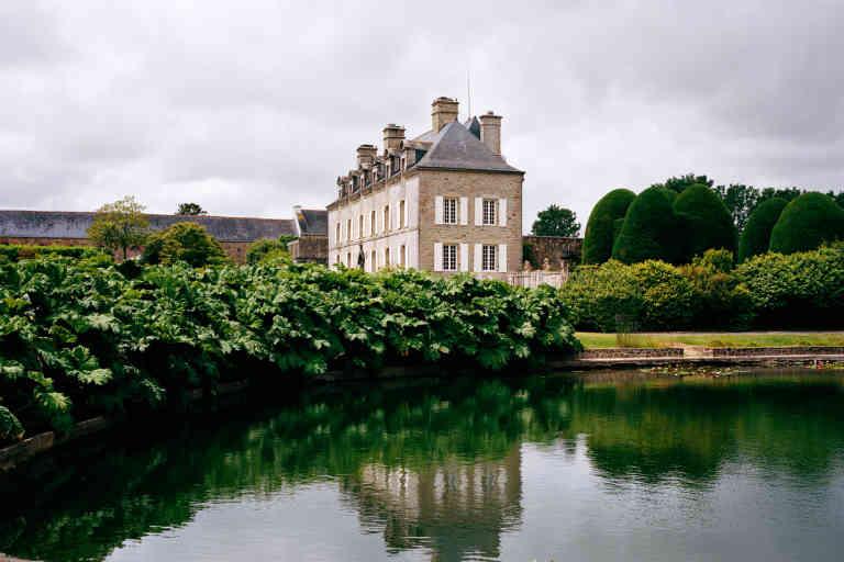 Maison de famille de Michel-Edouard Leclerc, reportage réalisé le vendredi 5 juin