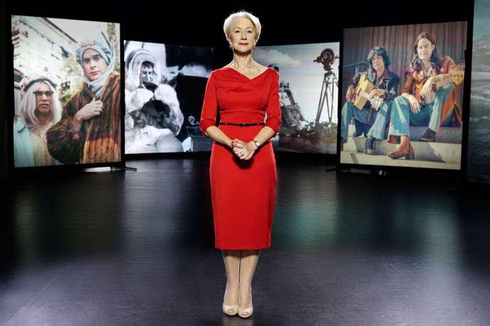 Helen Mirren est la présentatrice de cette série documentaire « Documentary Now ».