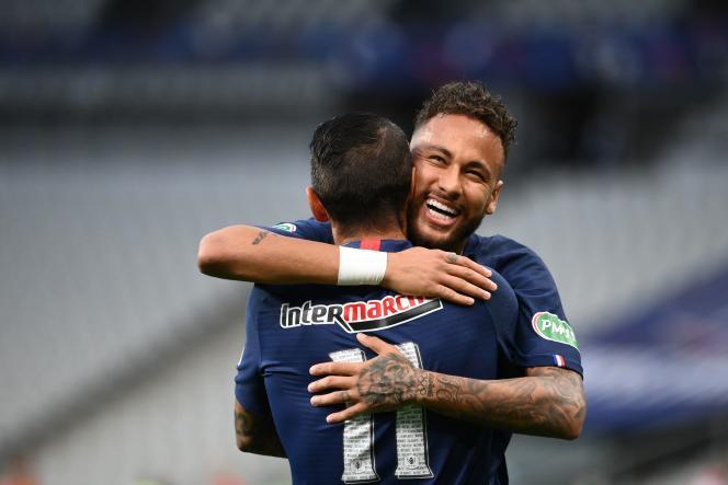 Neymar a inscrit l'unique but de la partie.