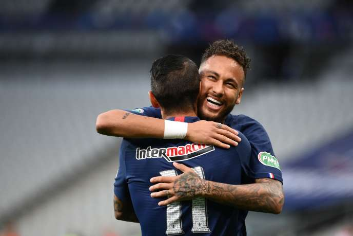 Neymar a inscrit l'unique but de la partie.