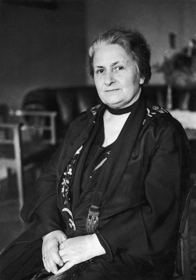 Maria Montessori, en 1931.