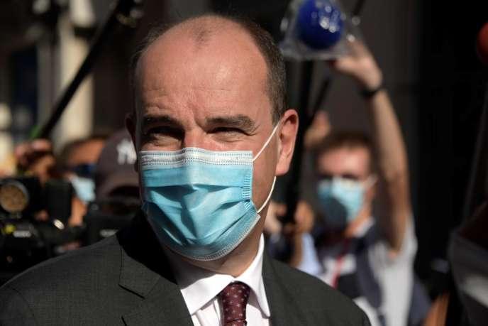 Jean Castex à Nice, le 25 juillet 2020.