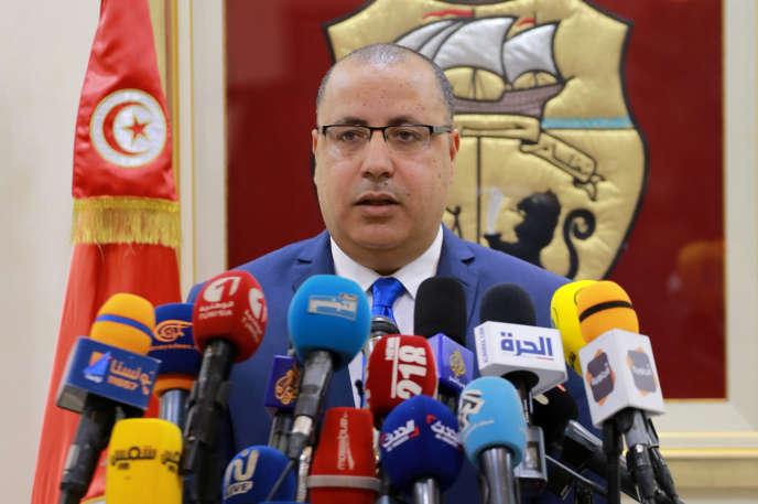 Hichem Mechichi le 6 mars à Tunis.
