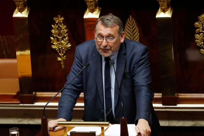 Joël Giraud, le 17 octobre 2017.