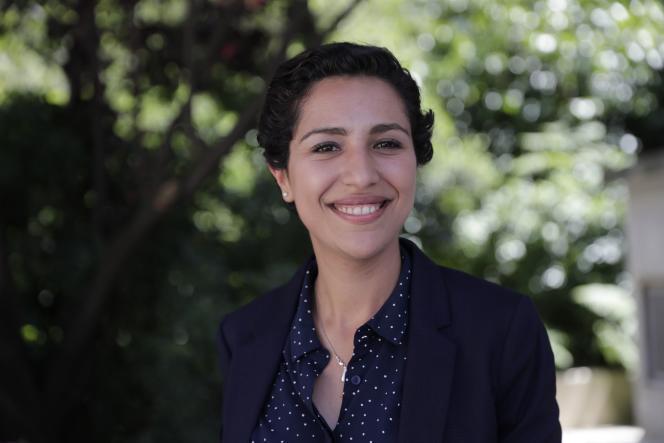 Sarah El Haïry, le 19 juin 2017.
