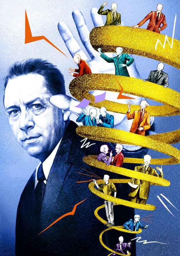 Albert Camus, tout en équilibre