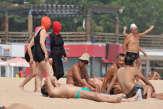 En facekini à Qingdao: c'est peut-être un détail pour vous…