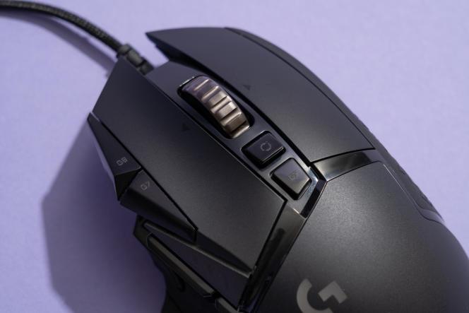 Les boutons G7 et G8 offrent moins de place à l'index au niveau du bouton de clic gauche de la souris.