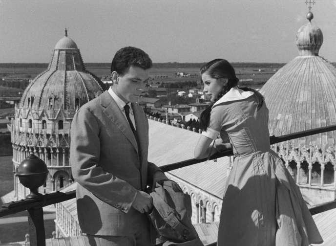 Raf Mattioli et Jacqueline Sassard dans «Guendalina, d'Alberto Lattuada.