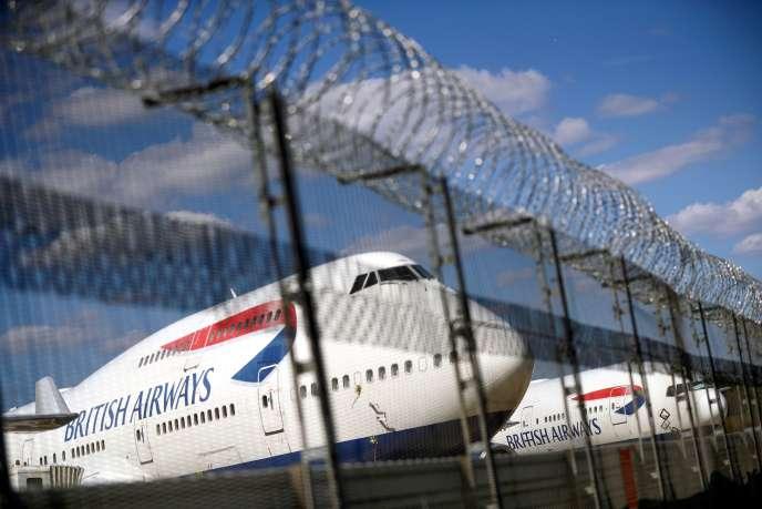 A l'aéroport de Heathrow à Londres, le 17 juillet.