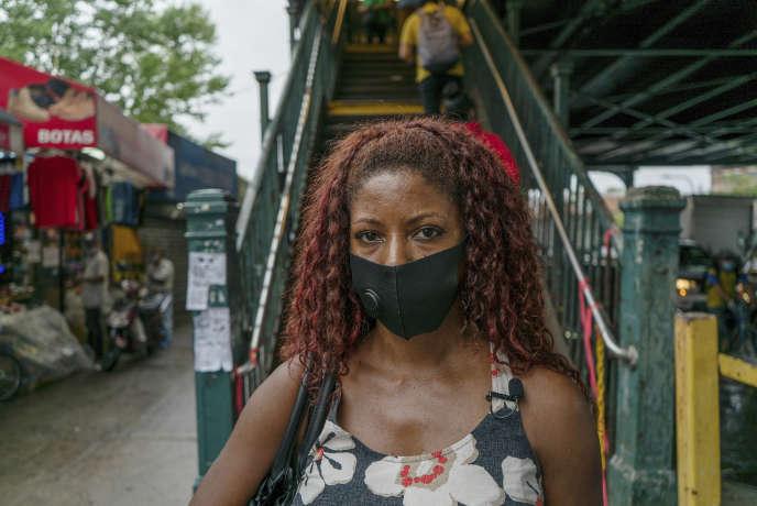 Damiana Reyes, habitante du Queens, à New York, a perdu son père des suites du Covid-19.