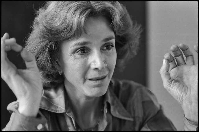 En 1982, en Isère, où elle avait été élue députée.