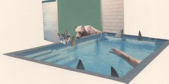 «Dans la piscine», une nouvelle inédite de Marie Darrieussecq