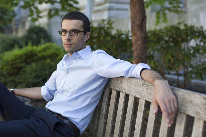 L'économiste Emmanuel Farhi, à l'université Harvard (Massachusetts), aux Etats-Unis, le 23 septembre 2014.