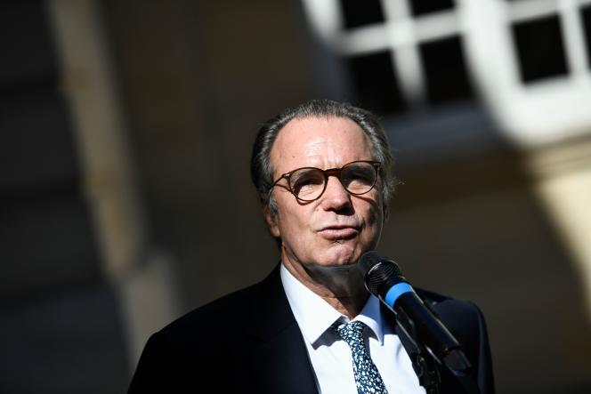 Renaud Muselier à Matignon, le 30 juillet 2020.