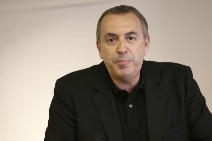 L'animateur de télévision Jean-Marc Morandini, lors d'une conférence de presse, à Paris, en juillet 2016.