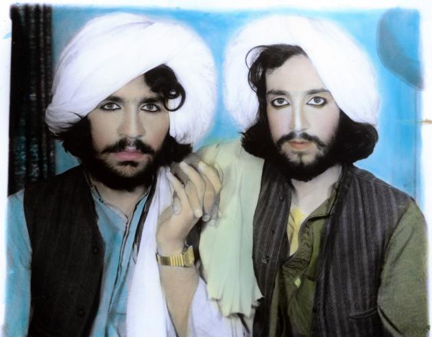 «Taliban Portrait. Kandahar, Afghanistan»(2002), de l'Allemand Thomas Dworzak.