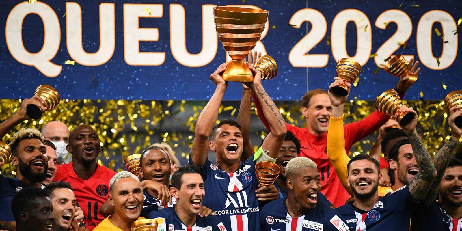 Les Parisiens ont remporté la dernière édition de la Coupe de la Ligue.