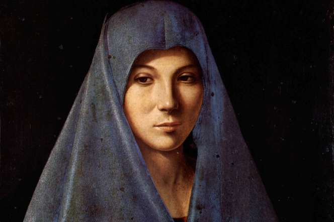 Vierge de l'Annonciation, par Antonello de Messine, Palerme, palais Abatellis.