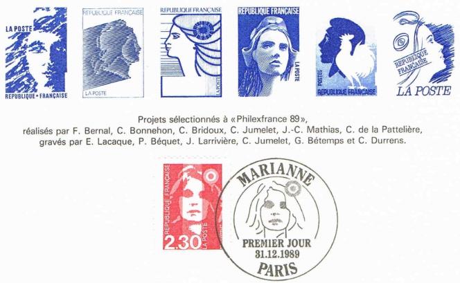 Le projet de« Marianne» signé Cyril de La Patellière est le premier en partant de la droite (1989).