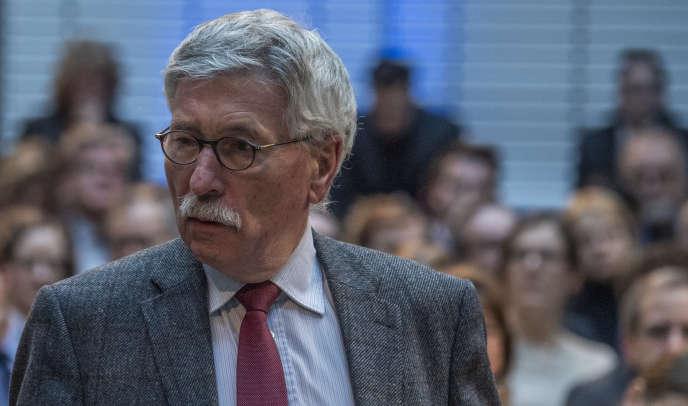 Thilo Sarrazin,à Berlin,en février 2019.