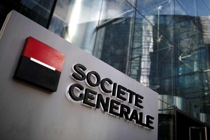 Siège de la Société Générale, à La Défense, le 4 février 2020.