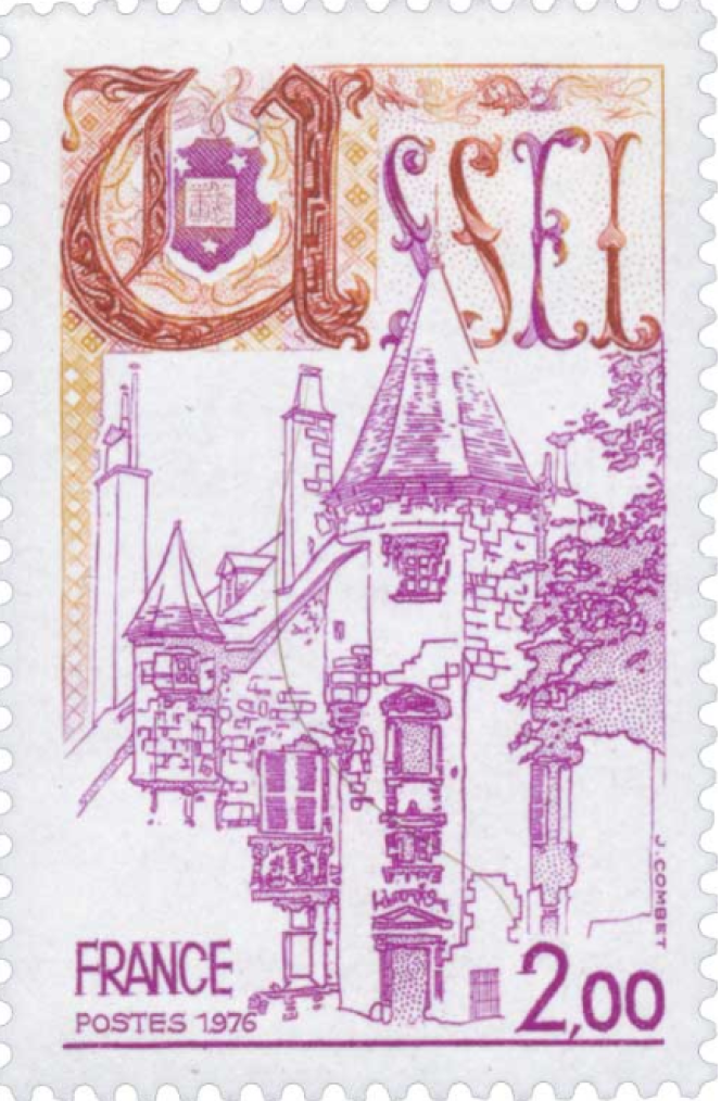 « Ussel», une création de Jacques Combet (1976).
