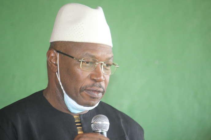 Economiste de 65 ans, plusieurs fois ministre, Ousmane Kaba dirige le Parti des démocrates pour l'espoir (Pades).