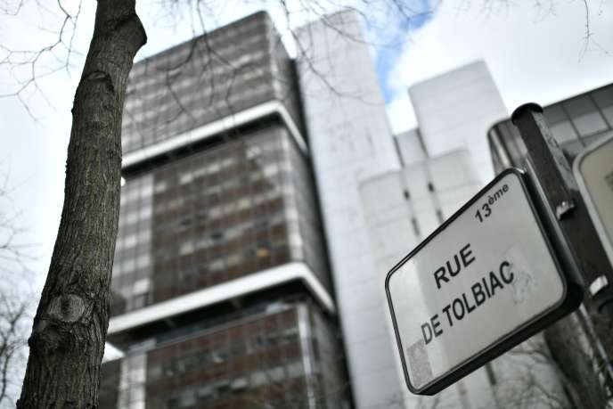 L'université de Tolbiac, à Paris, le 12mars 2020.