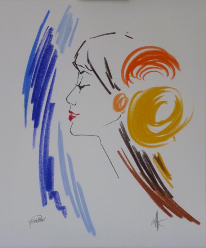 Oeuvre originale de Cyril de La Patellière.
