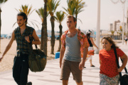 Ahmed Abdel Laoui (Quentin), Kacey Mottet Klein (Jack) et Andrea Maggiulli (Mathis).