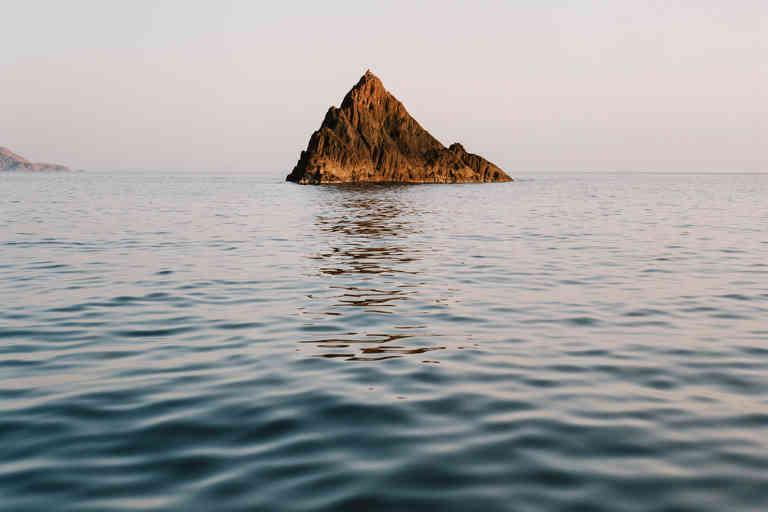 Corse 1 juillet 2020. En mer dans la réserve de Scandola sur le bateau des gardes.