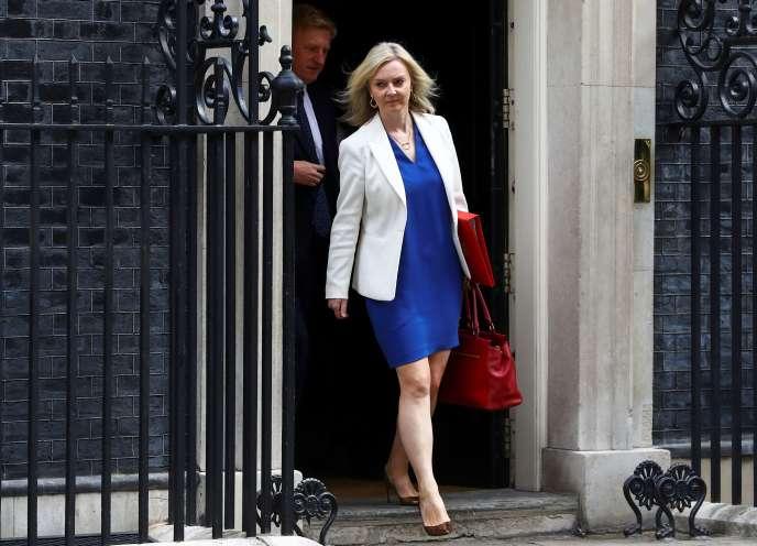 La ministre britannique du commerce Liz Truss, le 14 juillet à Londres.