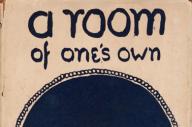 Couverture de la version anglaise de« Une chambre à soi».