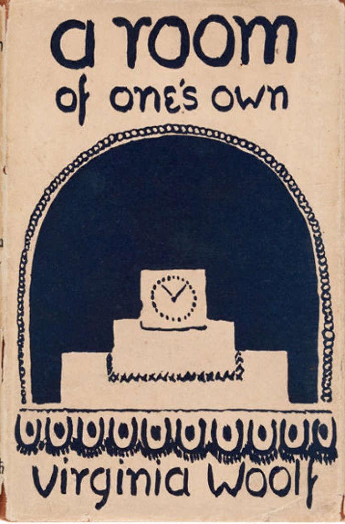 La couverture de l'édition originale d'« Une chambre à soi».