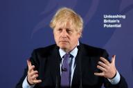 Le premier ministre britannique, Boris Johnson, à Londres, le 3 février.
