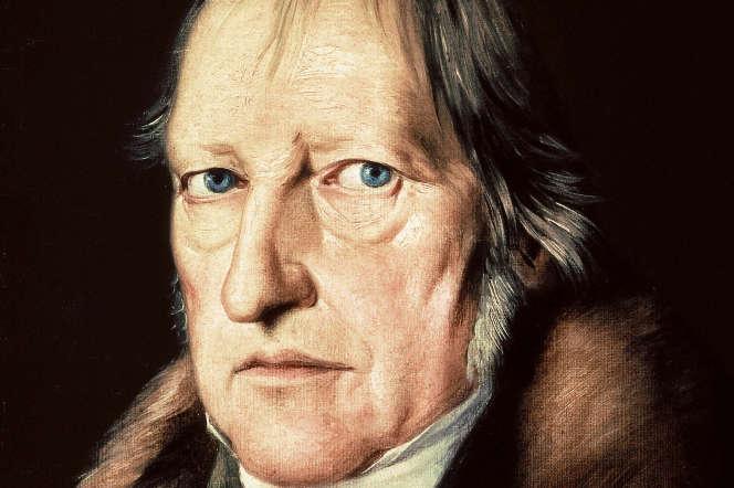 Portrait de Georg Wilhelm Friedrich Hegel (1770-1831) par Jacob Schlesinger, 1825.
