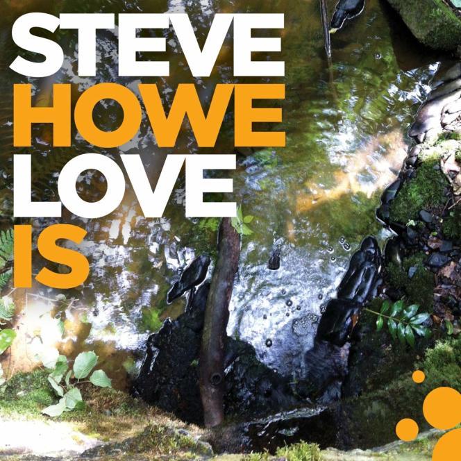 Pochette de l'album« Love Is», de Steve Howe.