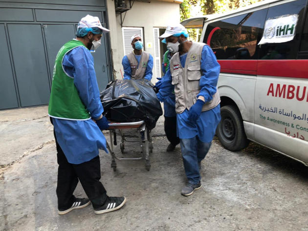 La Fondation turque de secours humanitaire(IHH) a envoyé en renfort des personnels soignants.