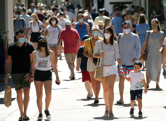 A Lyon, le port du masque sera obligatoire pour les plus de 11 ans à partir de mardi.
