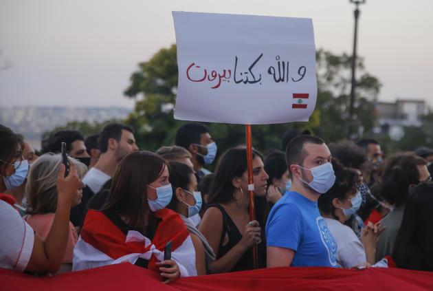 Un élan de solidarité et de soutien partagé dans le monde entier. «Pour Beyrouth, nous pleurons», pouvait-on lire à Paris, où une foule s'était rassemblée au pied du Sacré-Cœur, en hommage aux victimes, le 5 août.