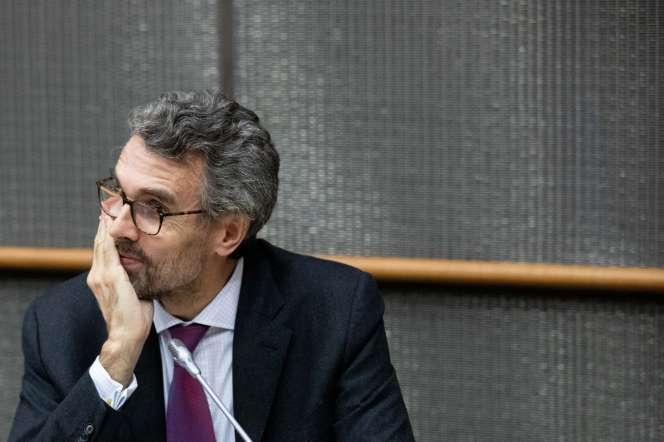 Marc Guillaume, lors d'une audition de la mission d'information sur la concrétisation des lois, à Paris, le 29 octobre 2019.