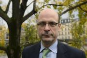 L'avocat français Stéphane Bonifassi le 15 novembre 2014, près de la Cour de Paris.