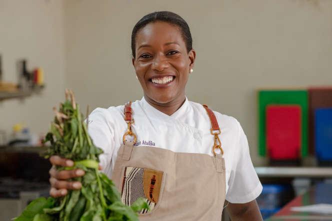 Selassie Atadikaveut défendre«une nouvelle cuisine africaine» privilégiant les produits locaux.