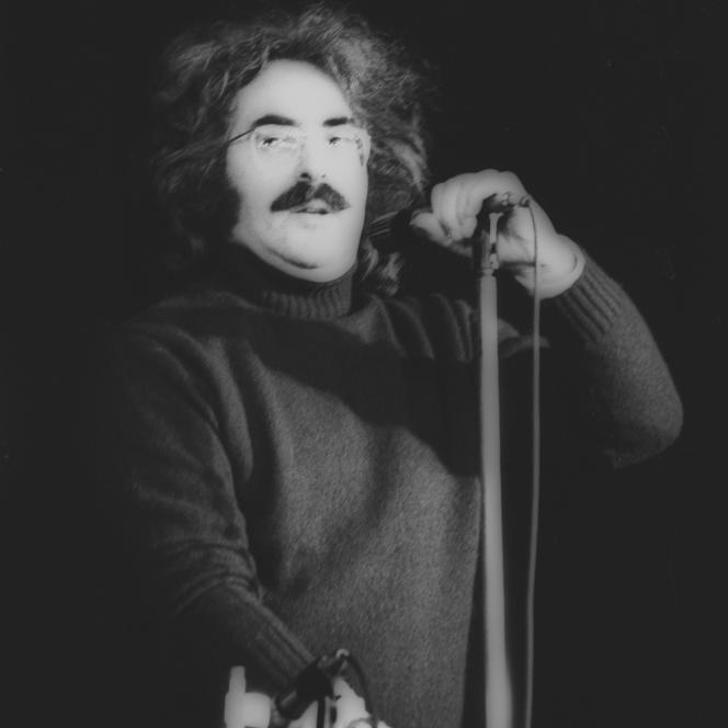 Lionel Rocheman en concert, en mars 1974.